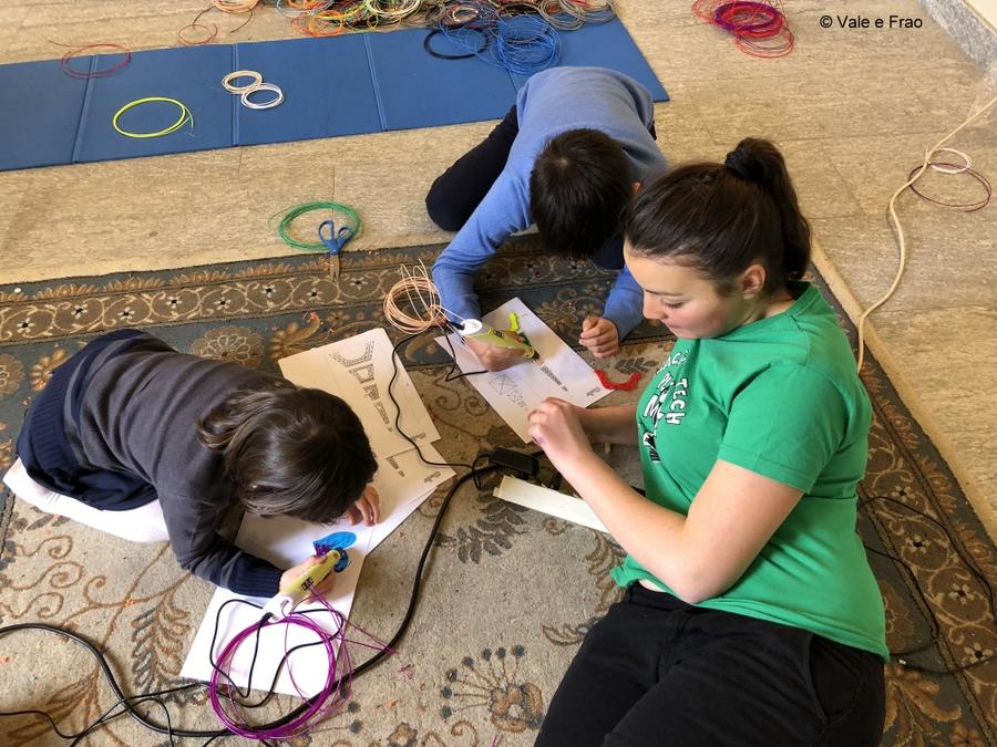 Laboratori di robotica per bambini al museo di Asti ragazzi