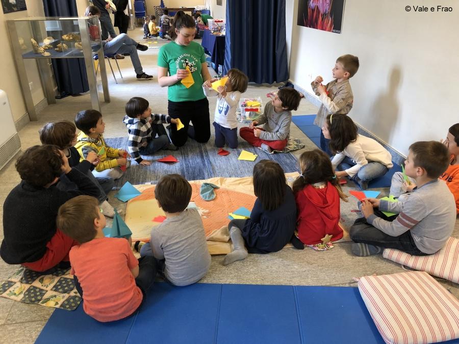 Laboratori di robotica per bambini al museo di Asti Volpe interattiva