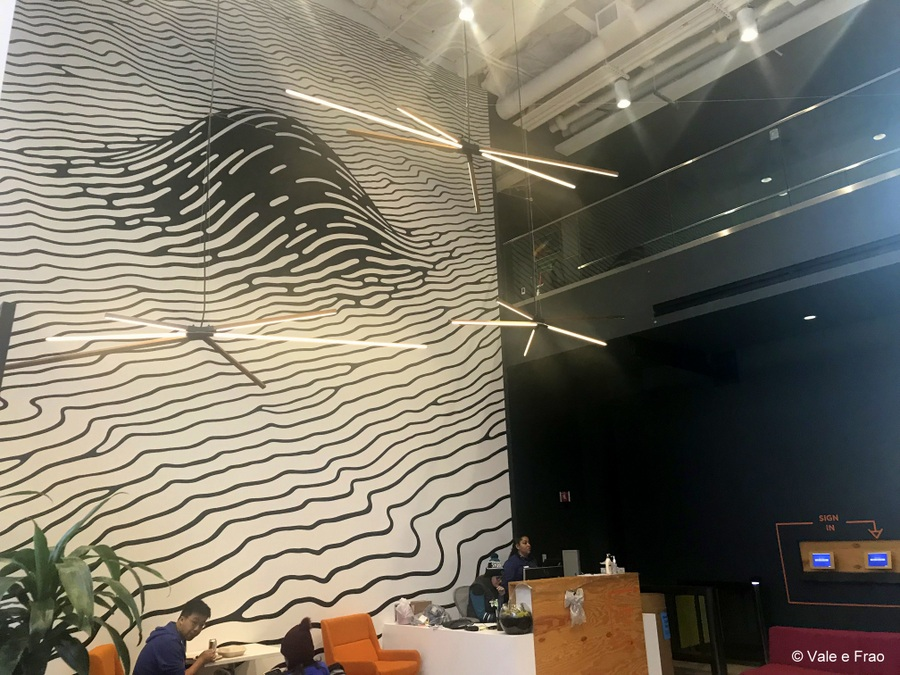 Visitare gli uffici di Facebook in California all'interno realtà tech