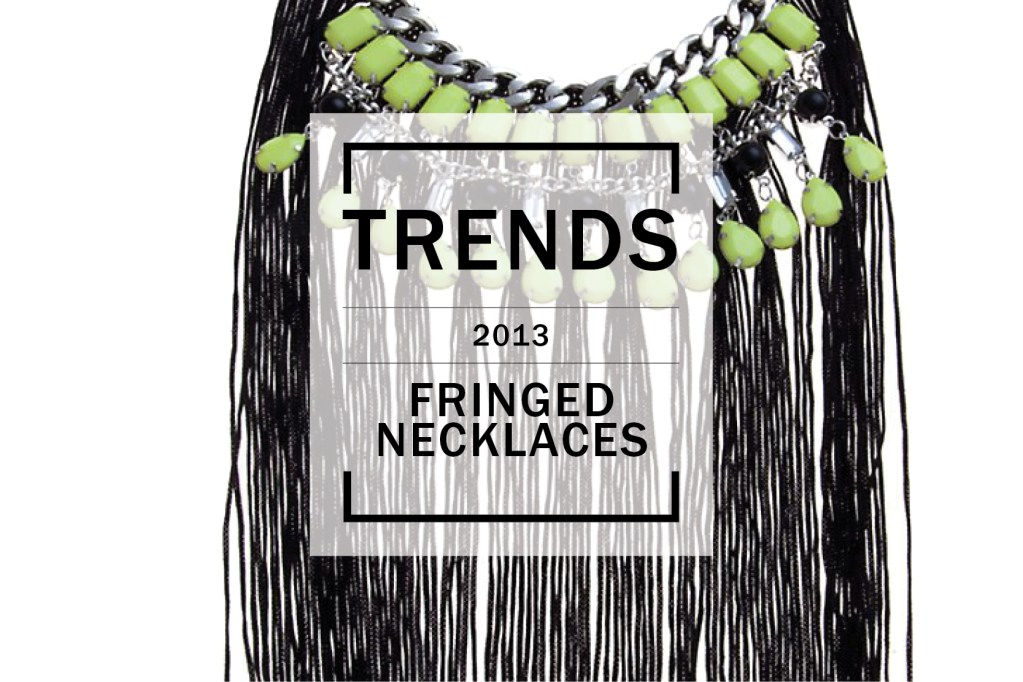 Shopping Trends: Fringed Necklaces