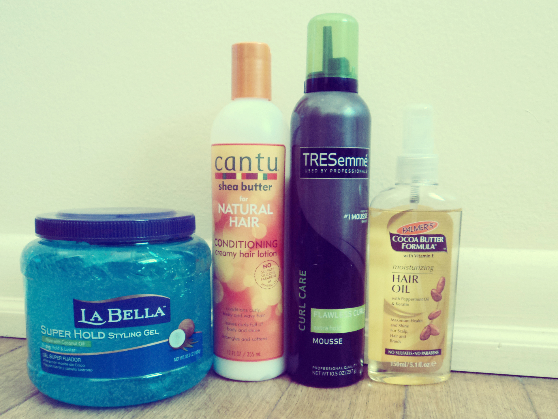 My favorite products for natural hair