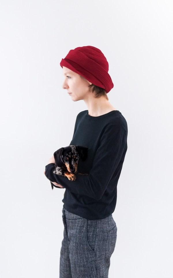 Valeria Fazekas unique hat