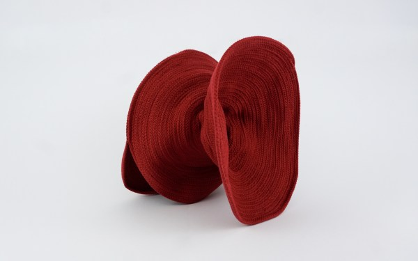 Valeria Fazekas red hat couture millinery