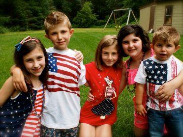 My Patriotic kids!