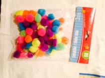 And had these pom poms