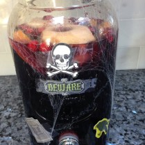 The sangria of lost souls.. that spilled almost 75% in my fkn car..