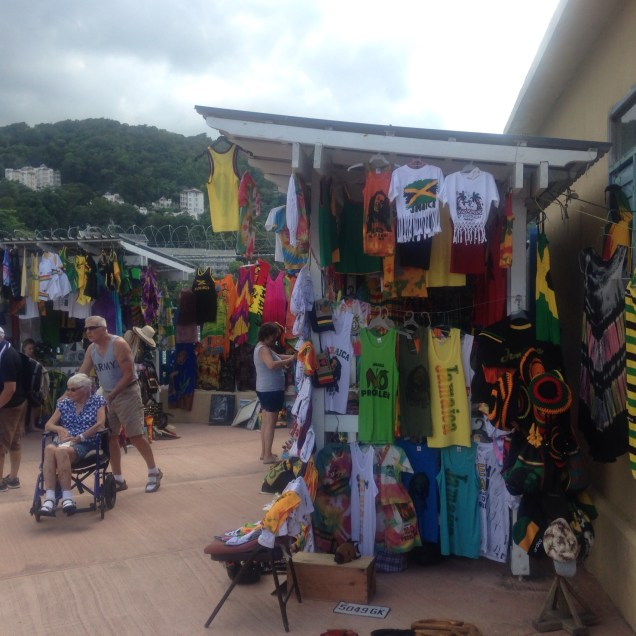 Back at port- shopping. Be aware that you will be harassed to death to buy stuff. This site was all around the taxi area, and tbh my kids found it overwhelming and not exactly pleasant. Im used to this.