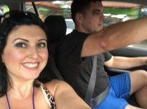 THEN WE RENTED OUR OWN CAR!