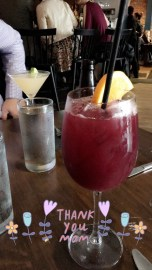 Ended with two sangrias :)