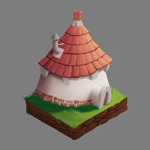 Petite maison isométrique