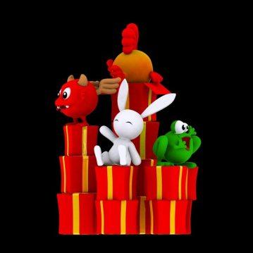 Prizee.com : Les mascottes
