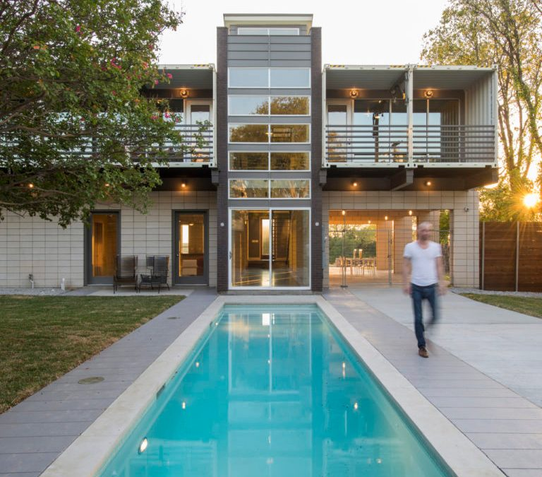 Shipping Containers = Your New Home