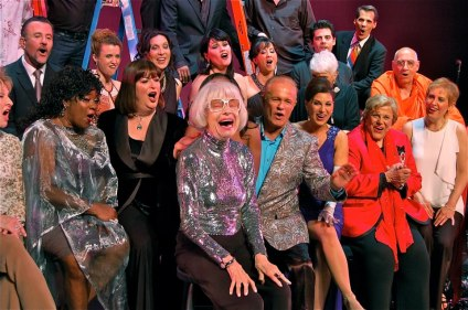 Carol Channing in front