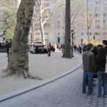 The line at the Shake Shack in Madison Square Park