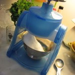 Suzanne's vintage ice shaver