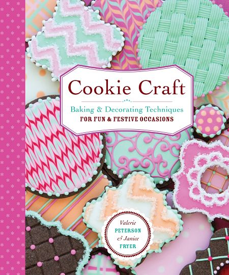 Cookie Craft cookie decorating book - paperback front cover