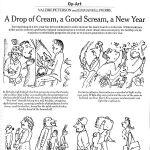 A Drop of Cream, A Good Scream, A New Year