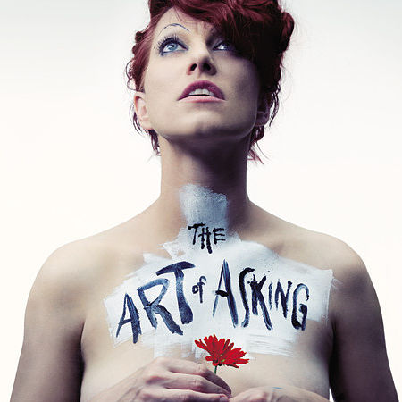 Detail of Amanda Palmer  from The Art of Asking book jacket