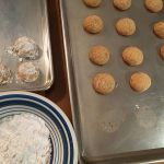 traditional Christmas cookies - how to make walnut ball cookies