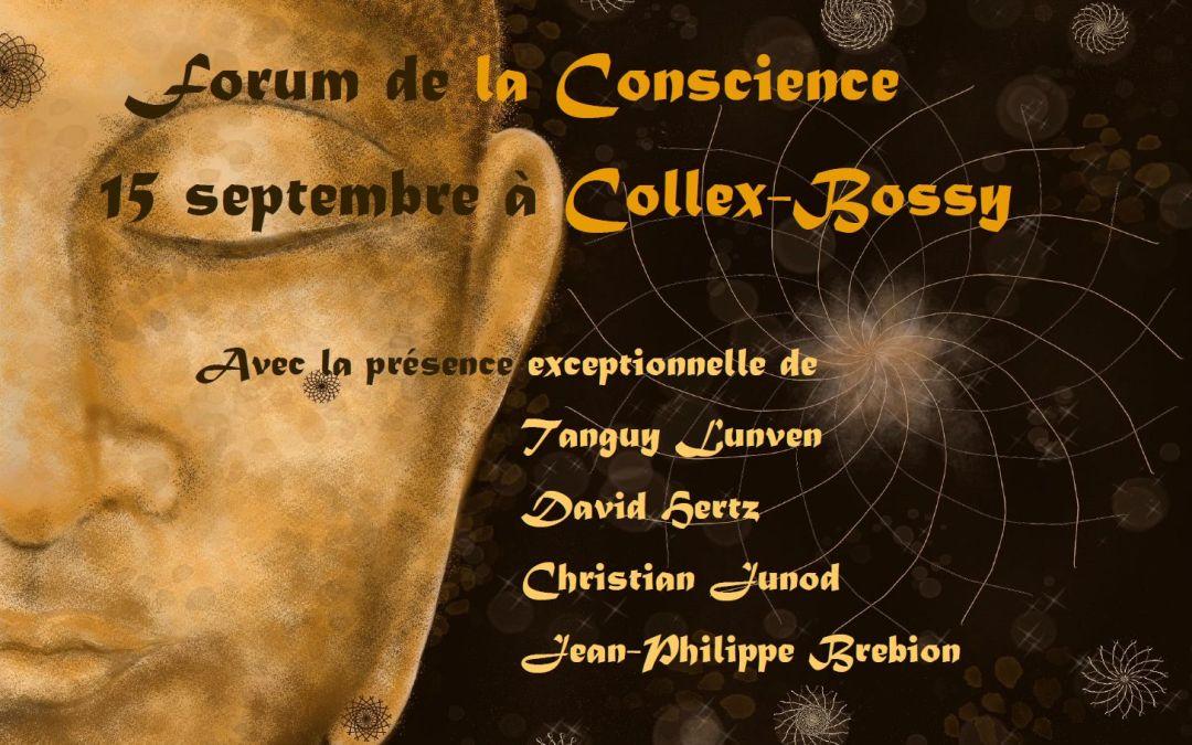 Annonce Forum sur la Conscience 2018