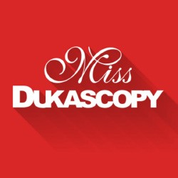 Shooting video Miss Dukascopy