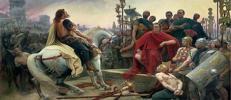 Jules César contre les Helvètes