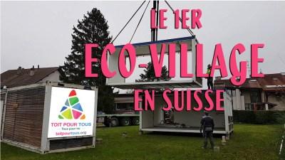 eco village avusy TOIT POUR TOUS