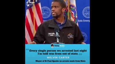 US riots - Melvin Carter