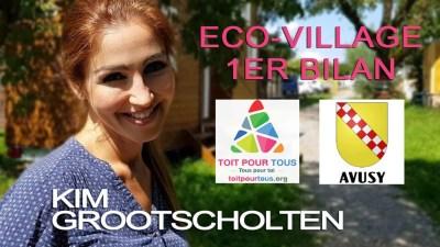 Kim Grootscholten - Directrice de l'éco-village TOIT POUR TOUS
