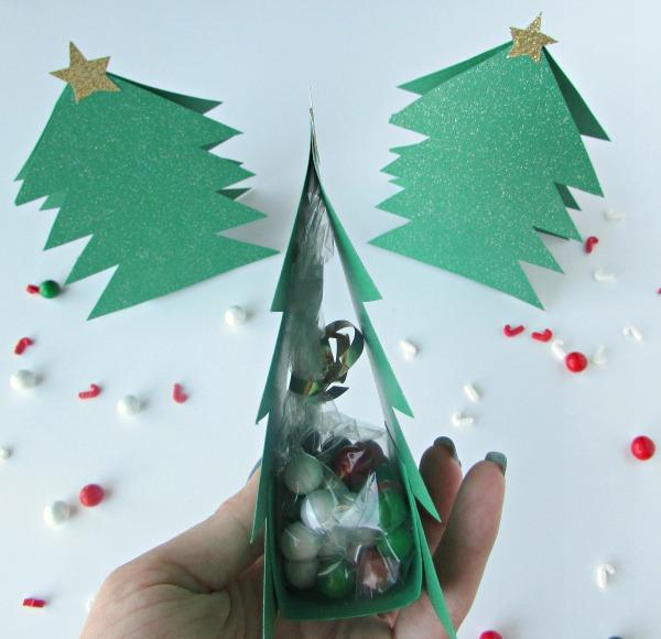 DIY Christmas Tree Gift Bags Val Event Gal
