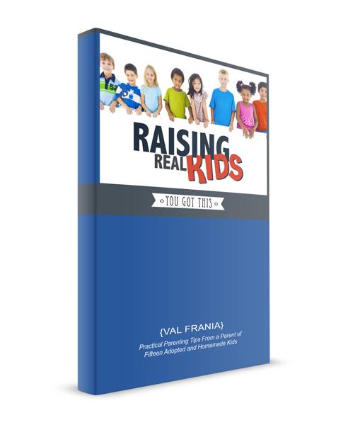 Raising Real Kids Ebook {Val Frania}