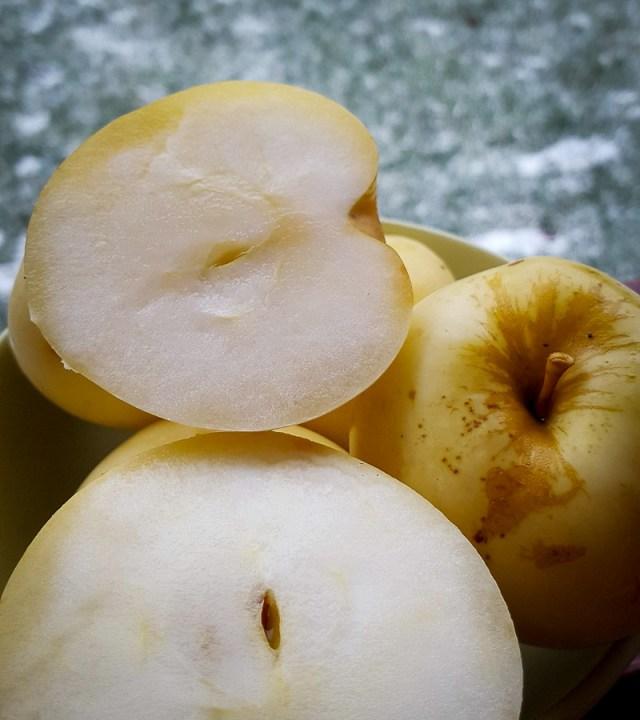 rauginti obuoliai