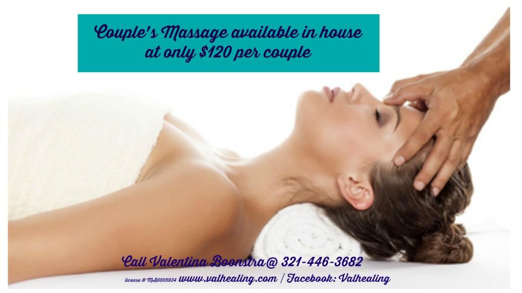 Beachside Indialantic, Melbourne Beach massag outcall,massage therapist Valentina Boonstra Melbourne