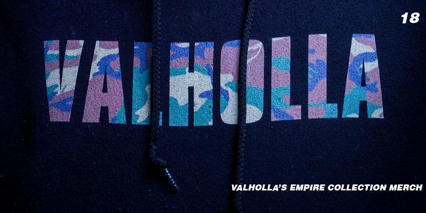 empire collection valholla merch
