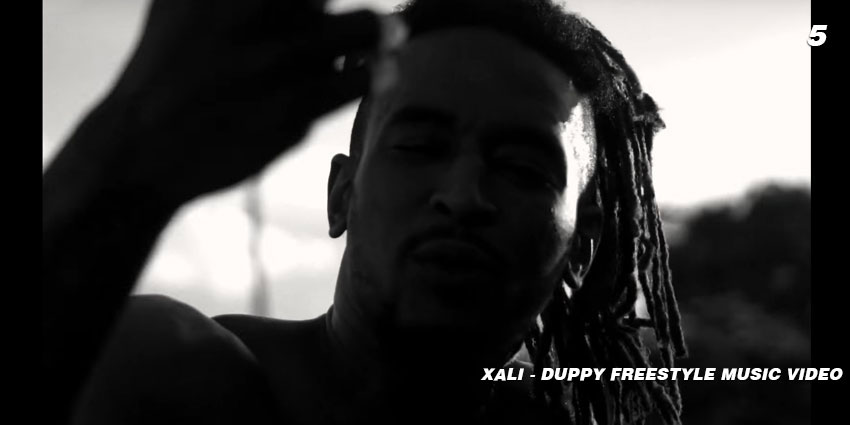 xali duppy freestyle video