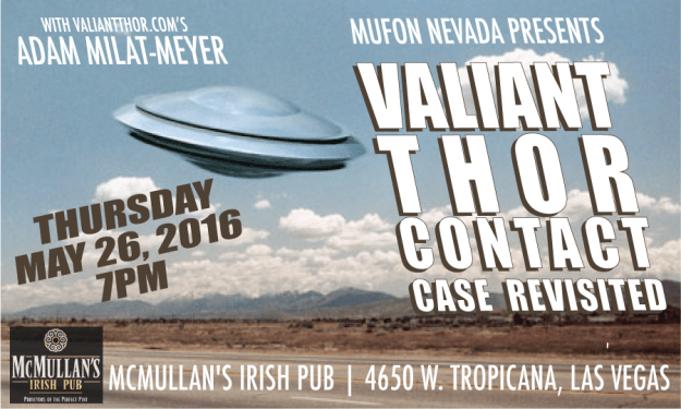 Adam Milat-Meyer at MUFON Nevada