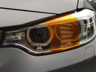 Orange Headlight & Tail Tint