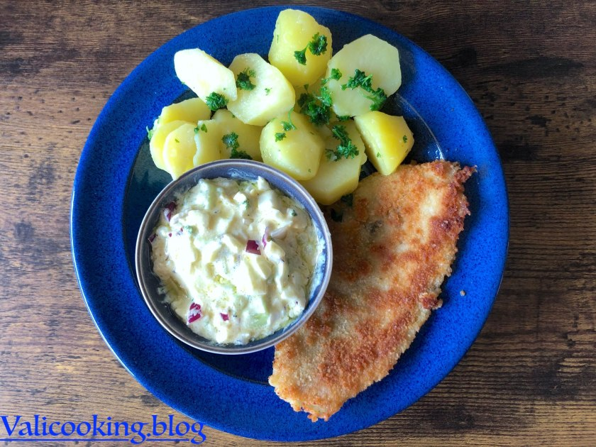 Plaice fillet with Homemade Remoulade
