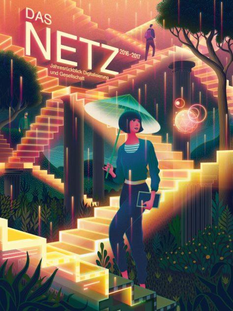 Das Netz 2016–2017, Cover: Sam Chivers