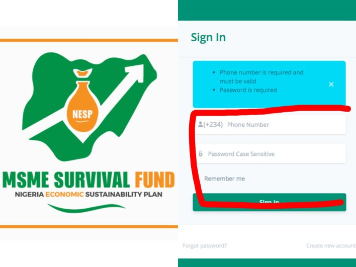 How to register for Survival Fund