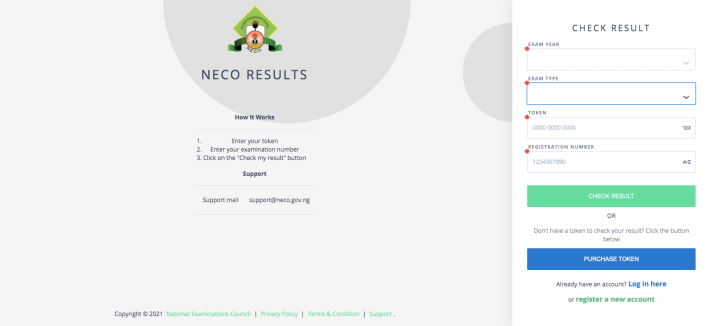 How To Check Your NECO Results