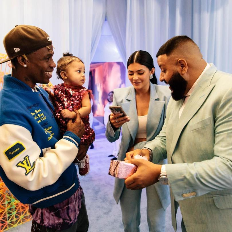 Kylie Jenner and Travis Scott threw a rich birthday party for their daughter