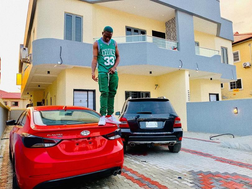 (GIST): Zlatan Ibile Buys Two Cars And A House