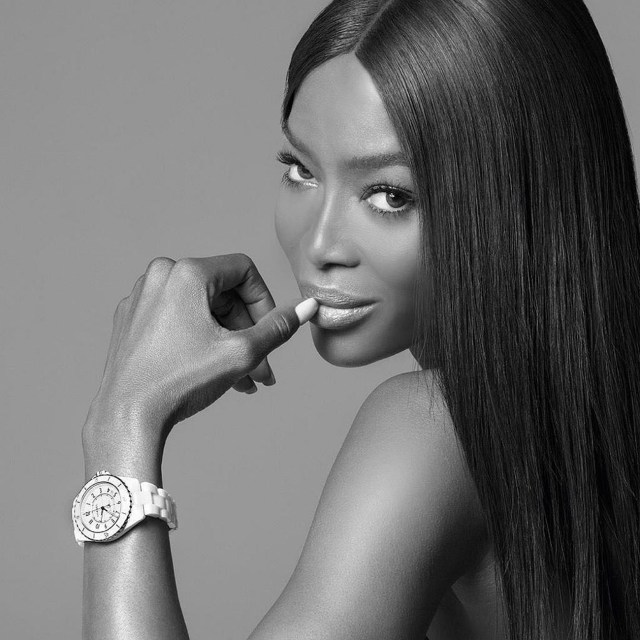 Naomi Campbell Goes Naked In A Photoshoot