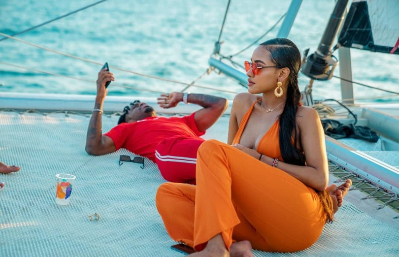 No Bad Energy Can Take You Away From Me: Diamond Platnumz' Girlfriend Posted