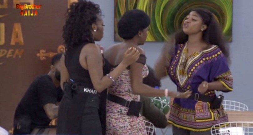 BB Naija Day 2: Tacha And Thelma Fight Over Fish – Watch Video