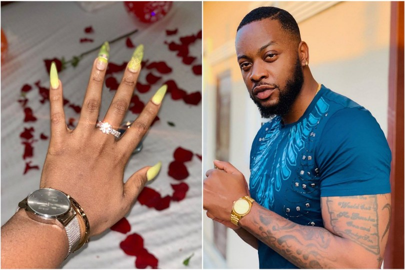 Teddy A finally engages Bam Bam with a diamond ring