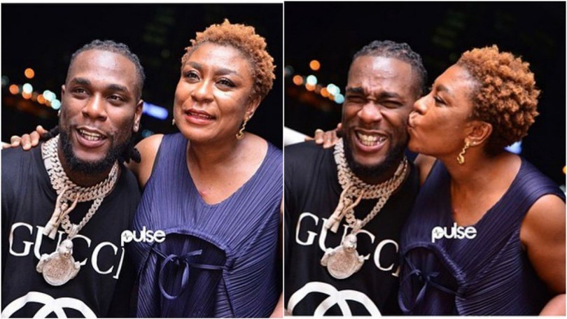 """See Burna Boy mum's dance moves during """"African Giant Album"""" listening party"""