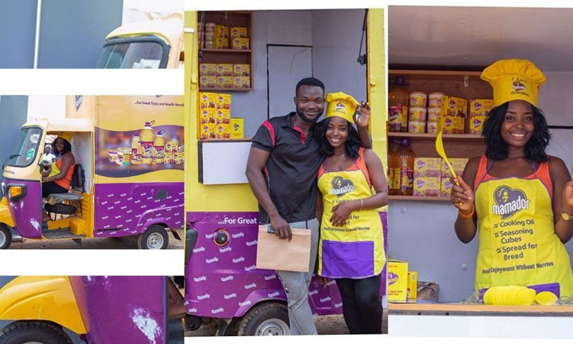 MamadorNG makes it more profitable for a wheelbarrow food seller, upgrades her business
