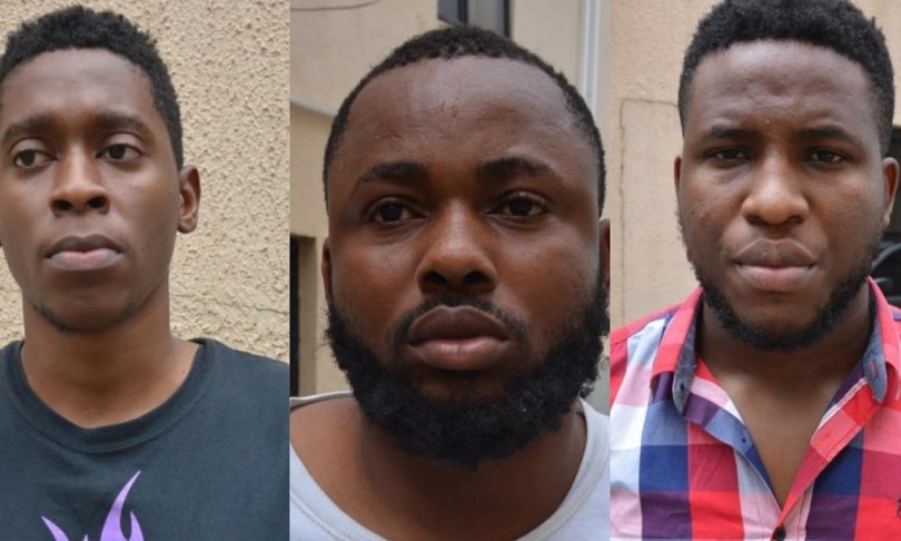 8 suspected yahoo-yahoo boys arrested in Abuja